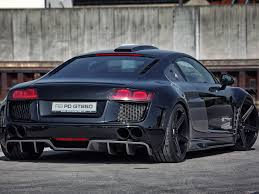 Audi R8 All Black - audi r8 pd gt850 widebody md exclusive cardesign exklusive