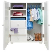 18 inch doll storage cabinet maplelea deluxe wardrobe for 18 inch doll clothing and accessories