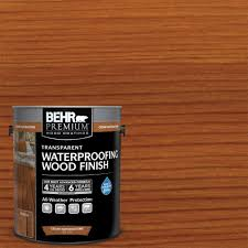 Behrs Furniture Store by Behr Premium 1 Gal Cedar Naturaltone Transparent Waterproofing