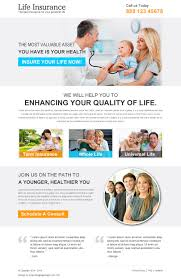 life insurance quote now clean life insurance responsive landing page design template