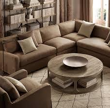restoration hardware sofa table martens round coffee table restoration hardware 36 inch coffee