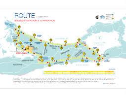 Boston Marathon Course Map by Bermuda Marathon Weekend U2013 January 12 14 2018