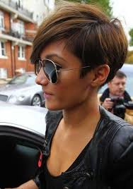 side and front view short pixie haircuts 55 super hot short hairstyles 2017 layers cool colors curls bangs
