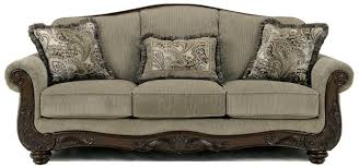 Signature By Ashley Sofa by Signature Design By Ashley Fresco Traditional Camel Back Sofa With