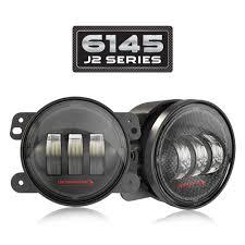 Jk Led Fog Lights Jw Speaker 0554413 Model 6145 J2 Series Fog Light Pair Offroad