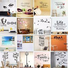 Quotes Wall Decor Quote Wall Decals Ebay
