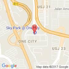 map usj 21 e city hotel at onecity subang jaya book with hotelsclick