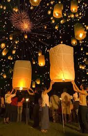 luck lanterns supichaya from thailand loy krathong thailand s floating