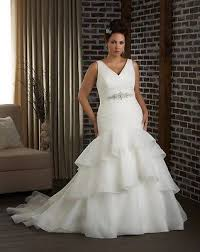 wedding dress size 16 mermaid v neck wedding dress bridal gown custom plus size 16