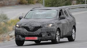 renault koleos 2014 2016 renault koleos spied up close undergoing testing