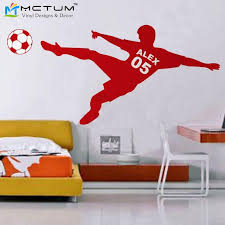 Sports Decals For Kids Rooms by Compare Prices On Wall Football Stickers Online Shopping Buy Low