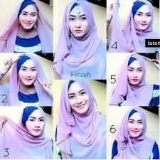 tutorial hijab syar i untuk pernikahan tutorial hijab syar i untuk wisuda terbaru dan kekinian hijabyuk com