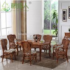katads page 72 cane dining table and chairs dining table with