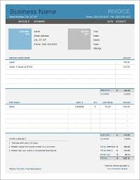 cash invoice sample invoice templates for excel