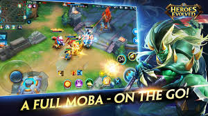 heroes evolved для android мобильная красивая moba u2014 android на