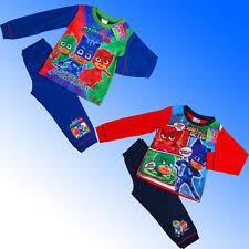 pj masks pyjama sets nightwear 2 16 boys ebay