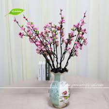 gnw blb ch1605019 latest design artificial flower red plum blossom
