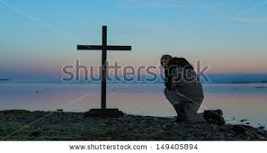 kneeling in prayer stock images royalty free images vectors
