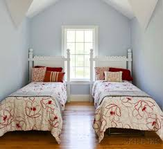 bedding throw pillows pair of cottage white painted twin bed frames with comforters