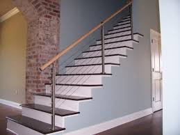stainless steel banister rails stainless steel stair parts installation wood balusters steel