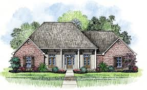 chalmette country french home plans acadian house plans