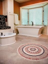 Floor Tile Ideas For Small Bathrooms Beautiful Bathroom Floors From Diy Network Diy
