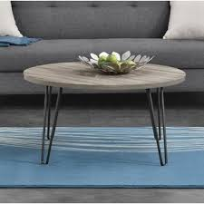 grey round coffee table retro formica table wayfair