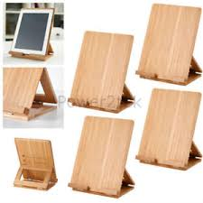 4 x ikea grimar bamboo wooden stand holder for air mini