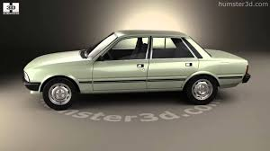 Peugeot 505 1979 3d Model By Humster3d Com Youtube