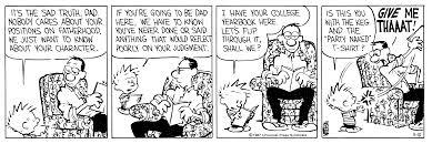 comic art calvin and hobbes