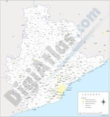 Girona Spain Map by Vectorized Maps Digital Maps Increase Search Engine Traffic