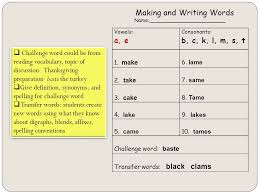 carolyn gould eex 6061 module 10 spelling title and writing