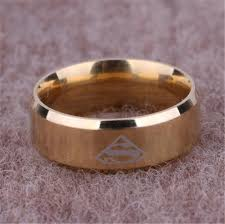 movie wedding rings images Fashion titanium super hero superman logo finger ring tail rings jpg