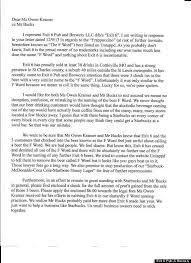 cover letter starbucks exit cover letter 100 resignation letter pdf uk