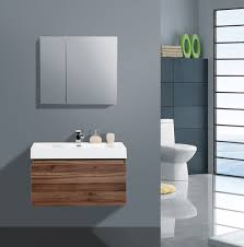 Walnut Bathroom Vanity Bathroom Extraordinary Aqua Decor Venice Inch Modern Bathroom