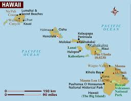 Hawaii On The Map Hawaii On World Map Charlotte Nc County Map Amazon Fulfillment