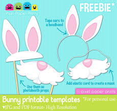 free easter bunny printable templates download these printable