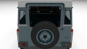land rover defender 90 interior land rover defender 90 station wagon w interior 3d model obj fbx