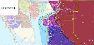 Map Of Englewood Florida by Patrol Divisions