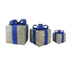 blue and silver christmas decorations amazon com