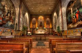 mission santa barbara is a very beautiful mission it one