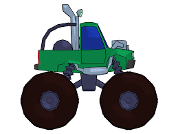 monster trucks clipart monster truck cartoon png clipart picture side view