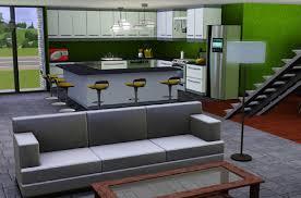 cuisine sims 3 sims 3 salon moderne cuisine moderne sims 3 avec des id es sims 3