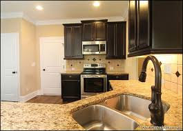 kitchen colors with dark brown cabinets u2014 desjar interior