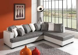 canap gris but photos canapé d angle cuir gris et blanc
