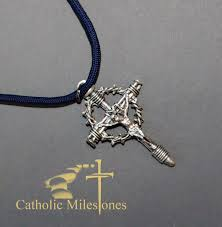 passion crucifix on cord catholic milestones catholic store
