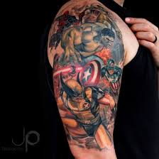 tattoos on pinterest captain america tattoo comic tattoo and