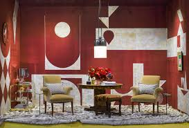 jay jeffers develops a custom de gournay wallcovering for the san