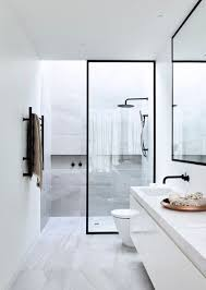 Magnificent 50 White Bathroom Pictures by Download Simple Modern Bathroom Javedchaudhry For Home Design
