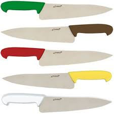 Coloured Kitchen Knives Colour Coded Chefs Knives Genware Genware K C6xx Colour Coded